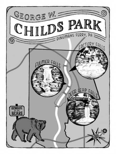 Childs Park Map
