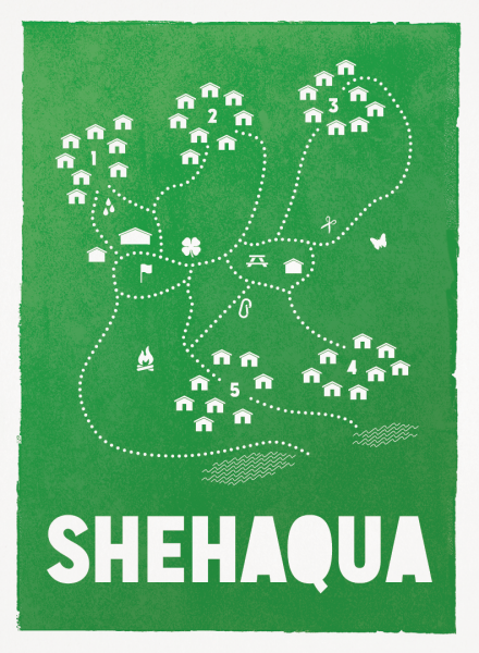 Shehaqua Map